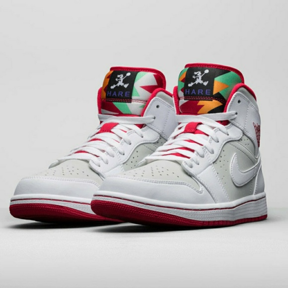 popular stores 2018 shoes great deals Air Jordan 1 Mid Hare